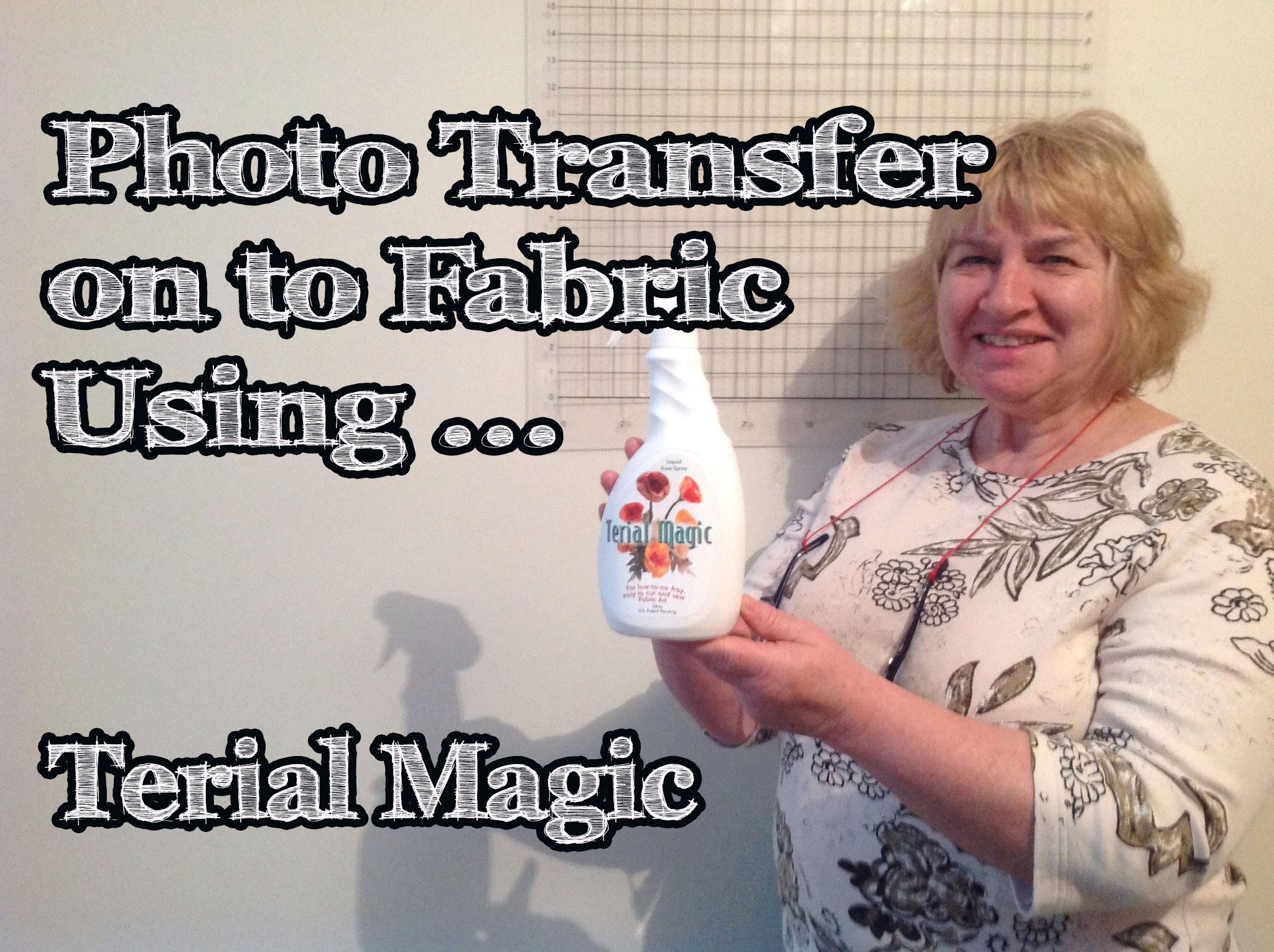 How to Photo Transfer to Fabric Using Terial Magic