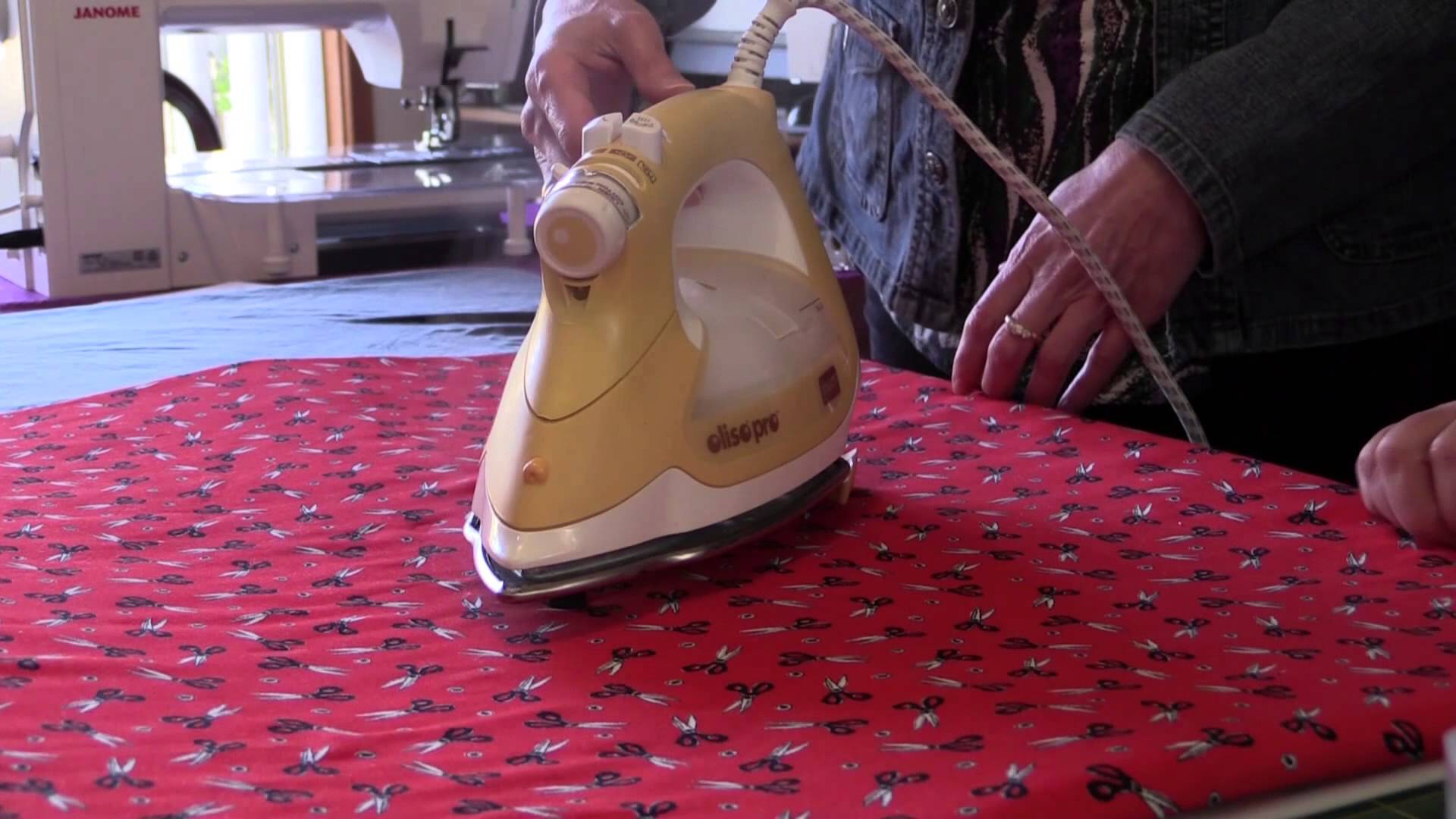 Oliso Pro Smart Iron Review and Demonstration