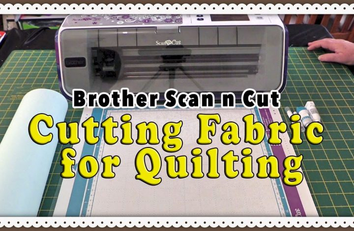 scanncut cutting fabric tutorial