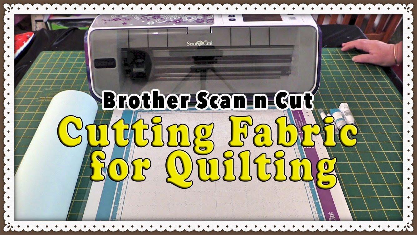 scanncut cutting fabric tutorial