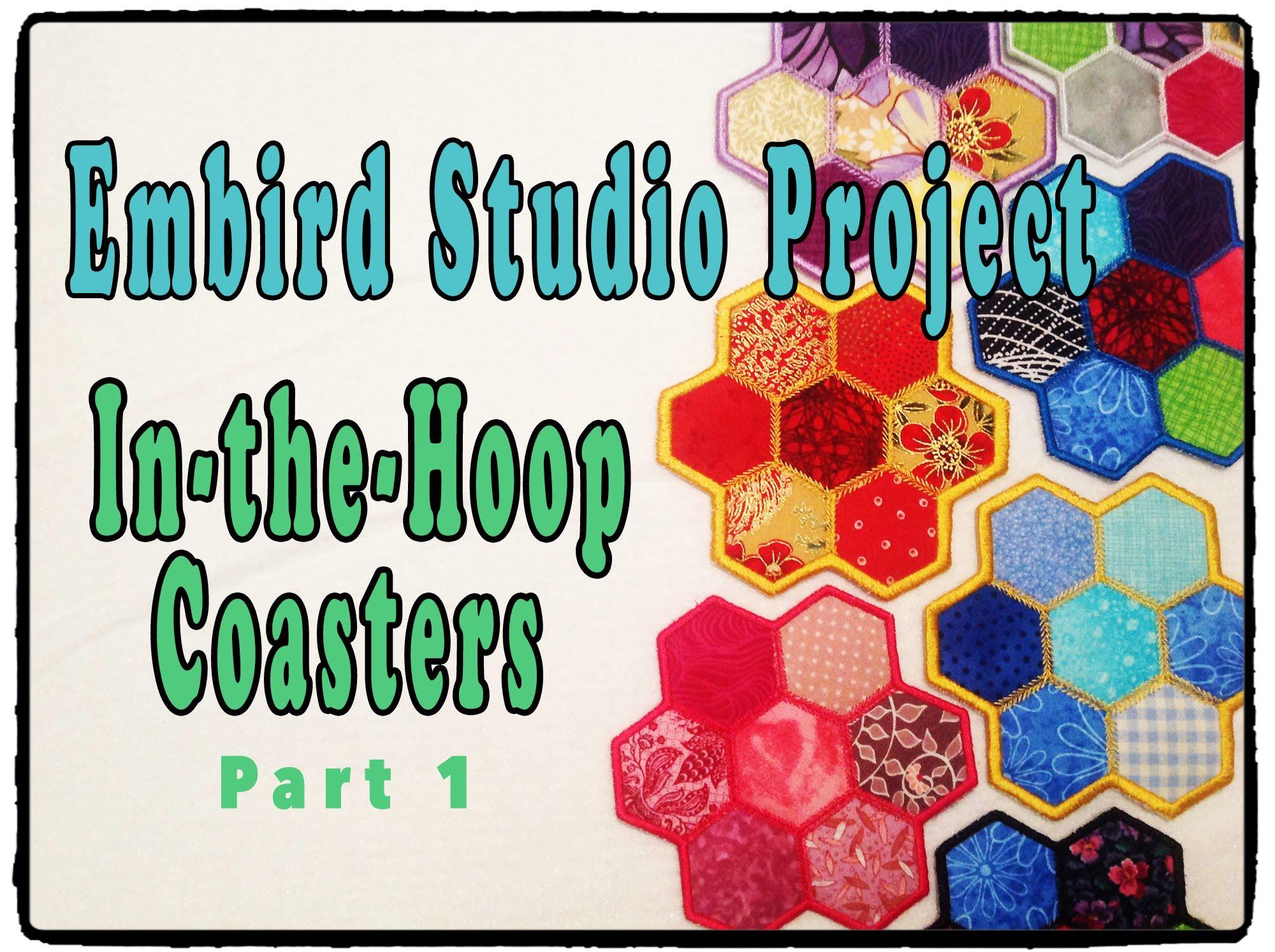 Embird Studio Tutorial: In-the-Hoop Polygon Coaster – Part 1