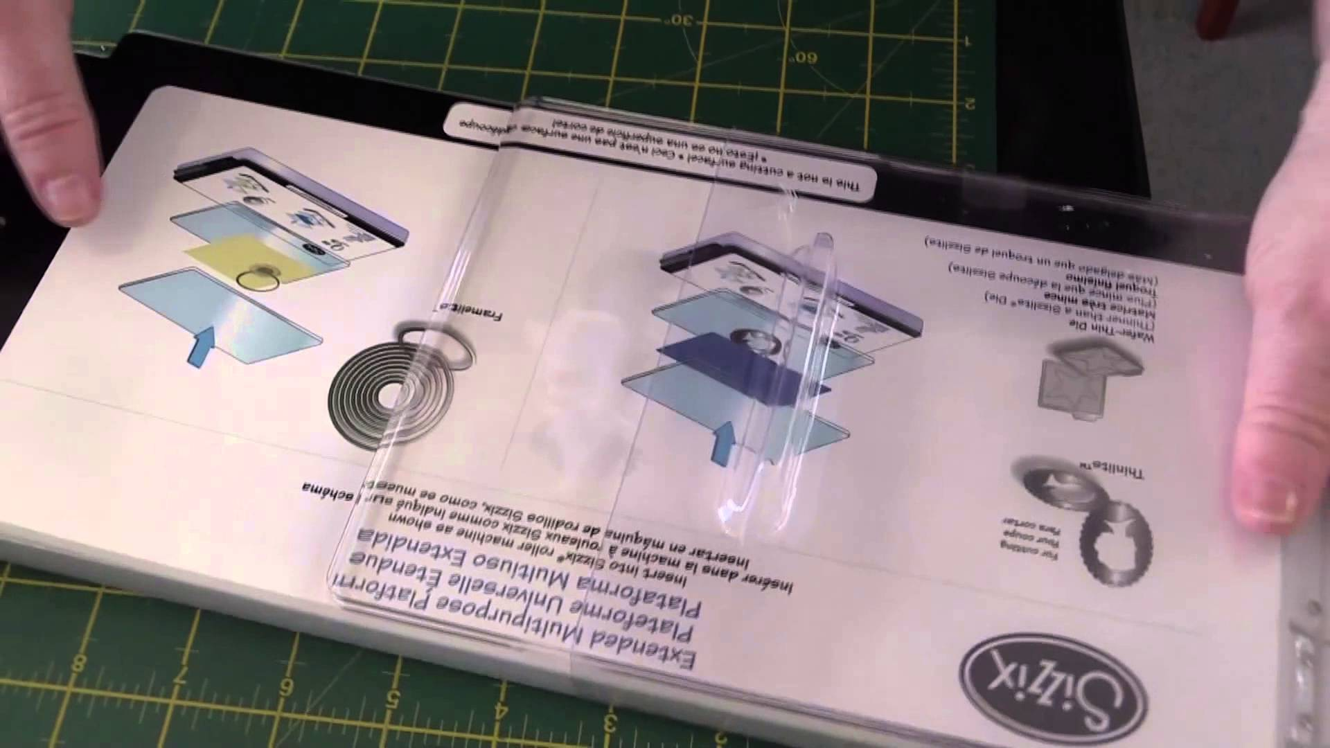 Sizzix Big Shot, Die Cutting and Embossing Machine, Unboxing