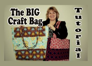 The Very Big Craft Bag by Alanda Craft