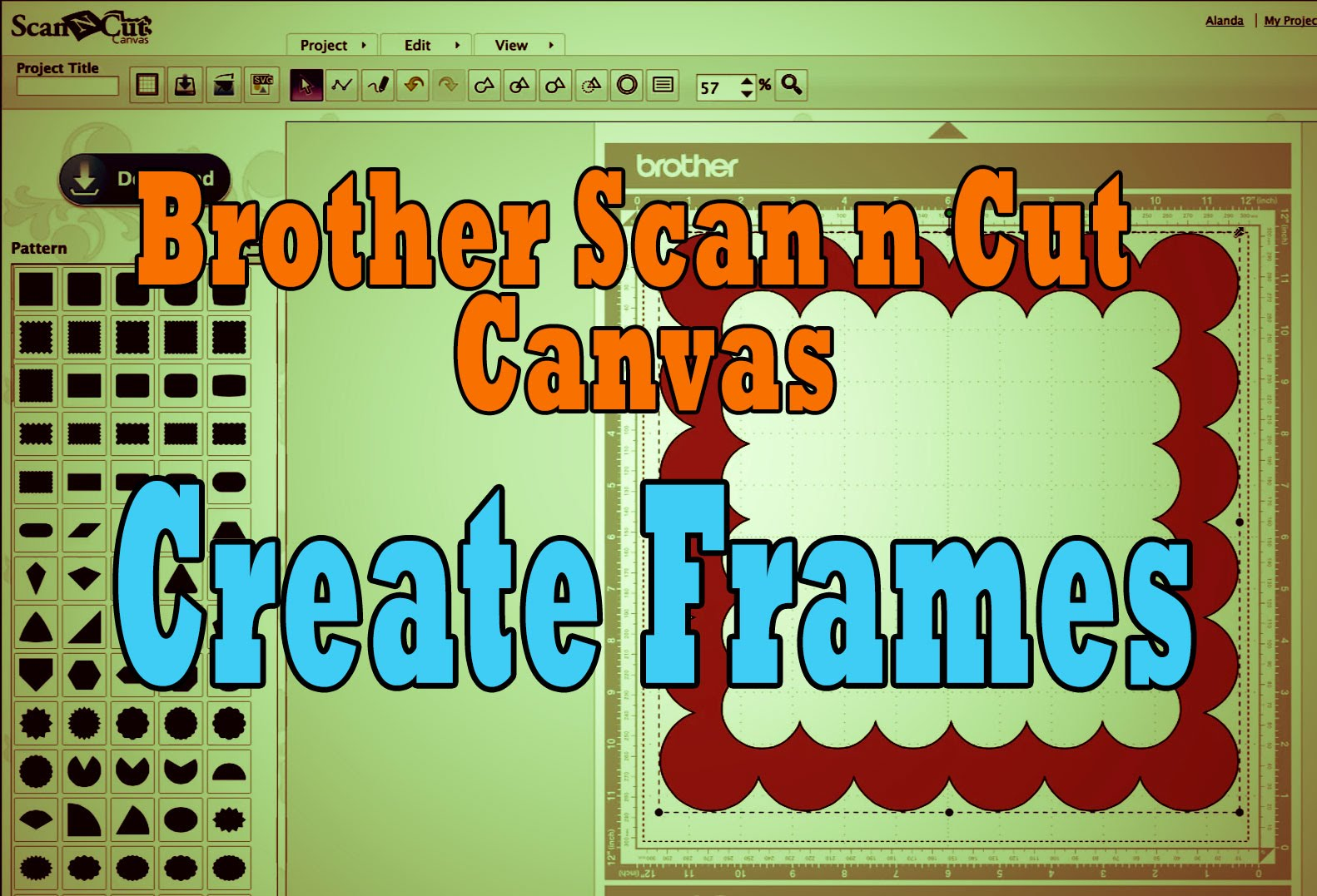 creating frames in canvas workspace tutorial