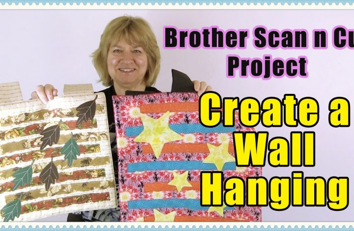 scanncut wall hanging tutorial