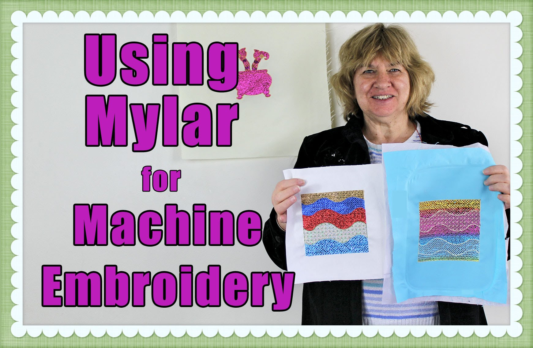 The Magic of Using Mylar in Embroidery & Quilting Projects