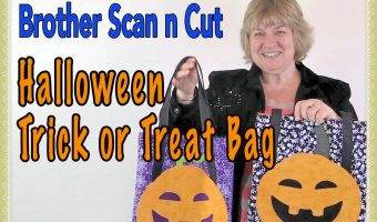 scanncut halloween trick or treat bag
