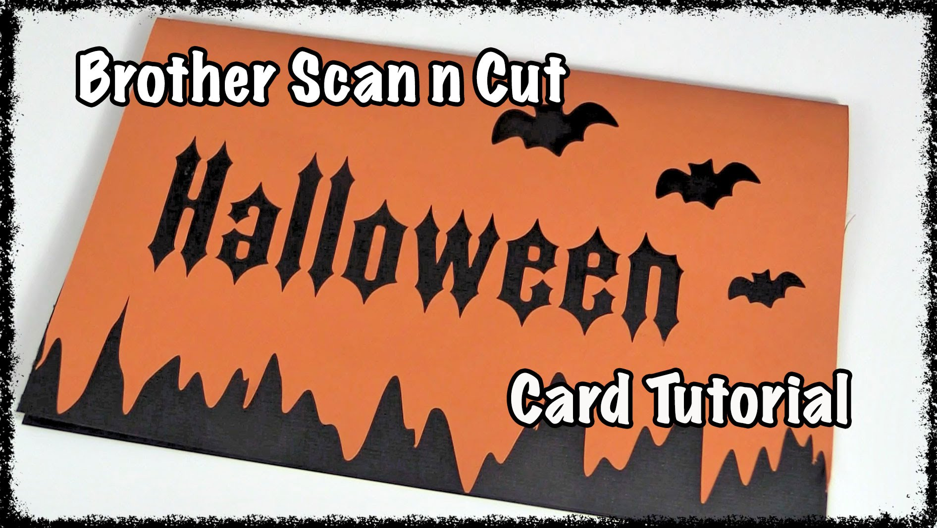 scanncut halloween card tutorial