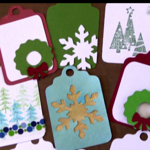 Brother Scan n Cut Christmas Tag Tutorial