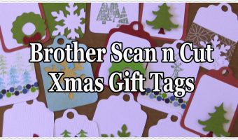 christmas gift tag cutting files for the ScanNCut