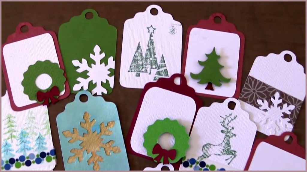 Brother ScanNCut Christmas Gift Tags