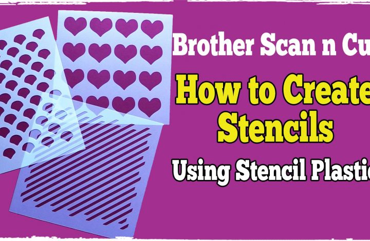 creating stencils with the scanncut