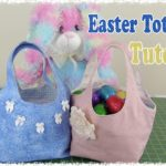 Easter Egg Tote Bag From 2 Fat Quarters