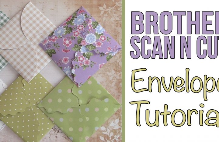 brother scanncut envelope tutorial
