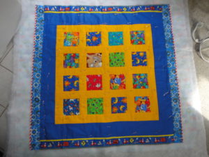 Readers Project: Baby Quilt for a New Little Boy