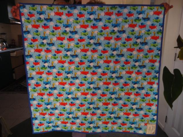 spencers signature quilt back