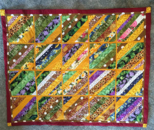 Readers Project: Beautiful String Quilt From Yvette