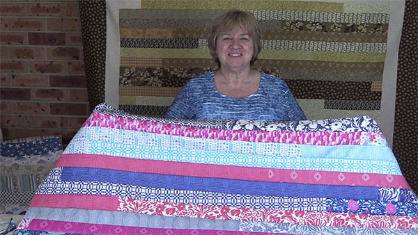 jellyroll-race-quilt, craft,sewing,quilting