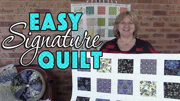 signature-quilt,quilting,craft, sewing,