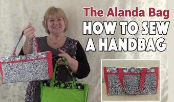 The Alanda Bag – Handbag Tutorial