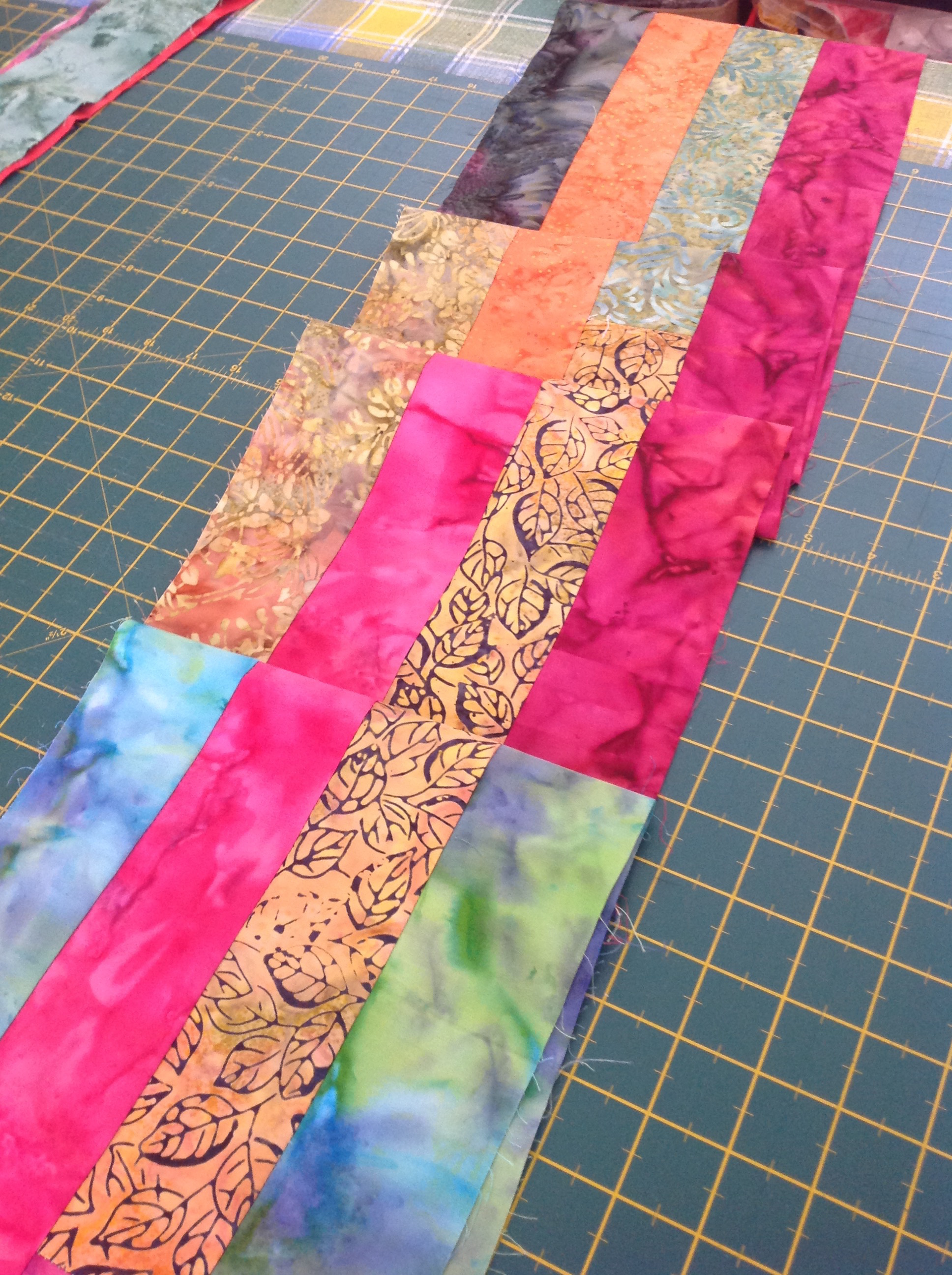 How to Make an Easy Jelly Roll Scarf