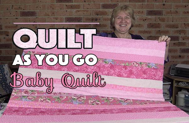 Quilting Tutorial Quilt As You Go Baby Quilt Alanda Craft