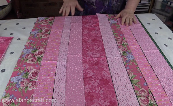 Quilting Tutorial: Quilt as You Go Baby Quilt - Alanda Craft : quilt as you go baby quilt - Adamdwight.com