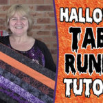 The 20 Minute Halloween Table Runner Tutorial