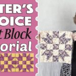 Quilt Block: Sister's Choice Quilt Block