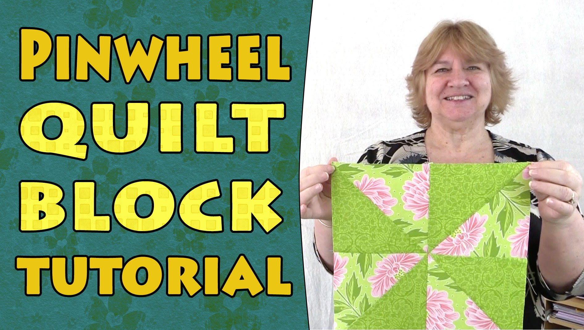 Quilting Blocks – Pinwheel Quilt Block