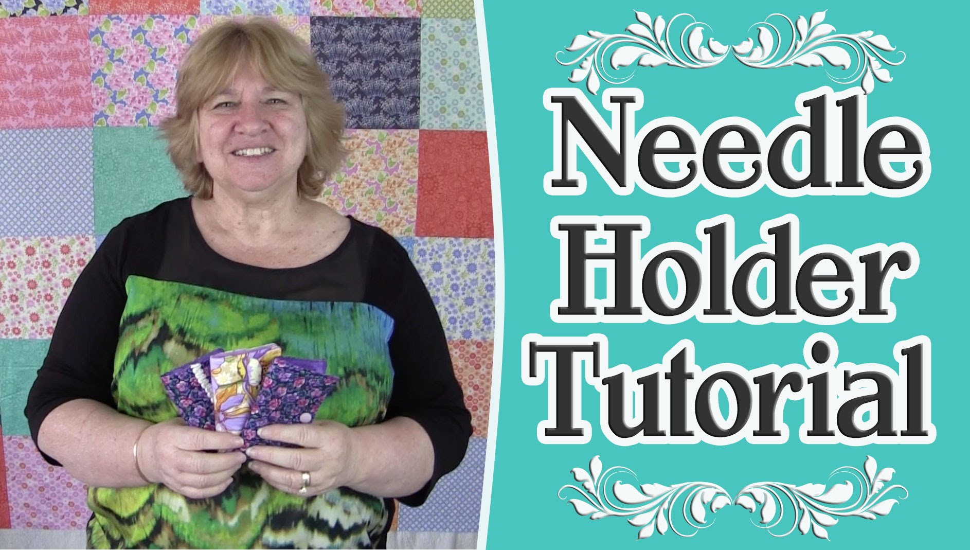 Scrap Buster – Needle Holder Tutorial – Sewing Project