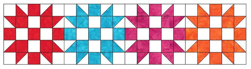 sister's choice quilt block tutorial