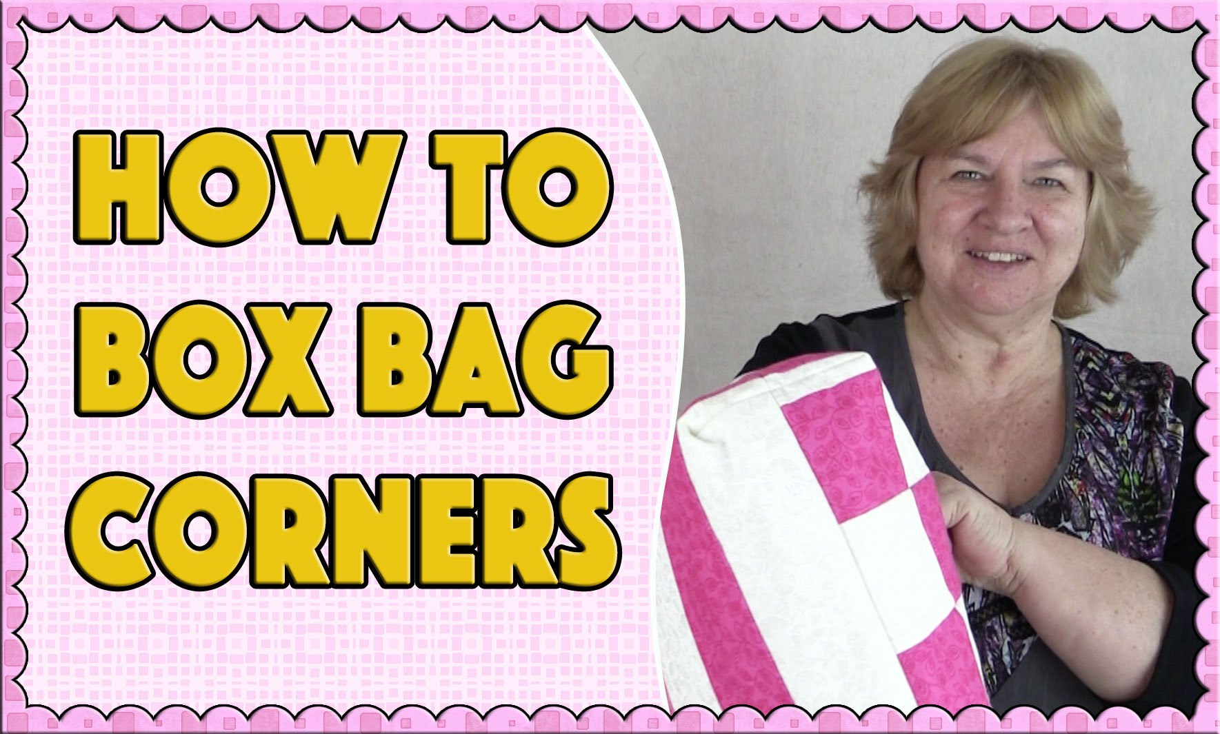 Tote Bag Tutorial – How to Box a Corner