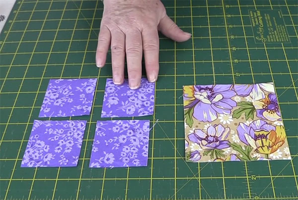 Quilting Blocks: Square in a Square Quilt Block Tutorial - Alanda ... : cutting quilt squares - Adamdwight.com