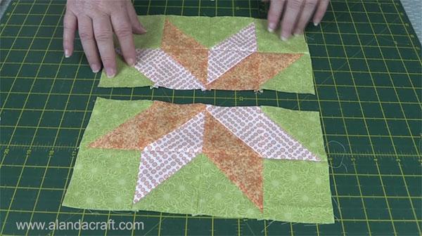 Quilting Blocks: Starflower Quilt Block - Alanda Craft : star flower quilt block pattern - Adamdwight.com