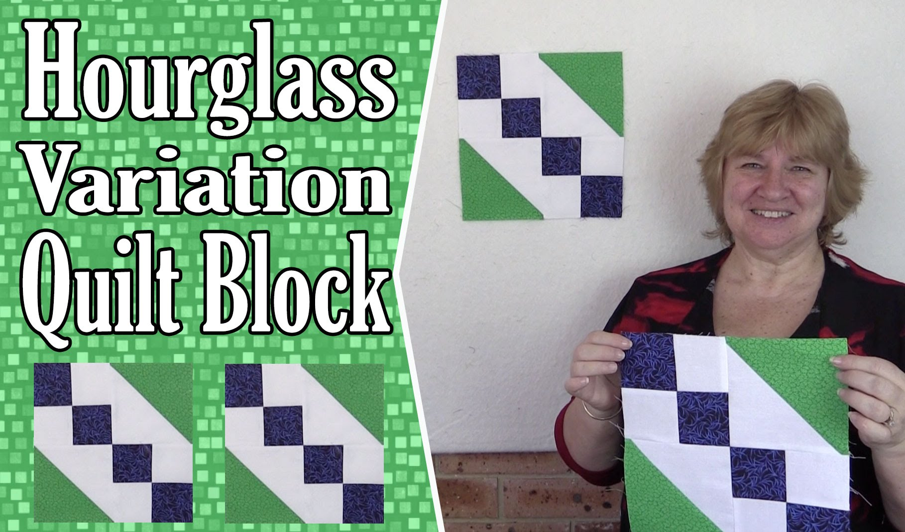 Quilt Block: Hourglass Variation Tutorial