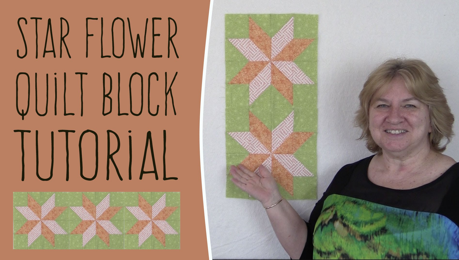 Quilting Blocks: Starflower Quilt Block