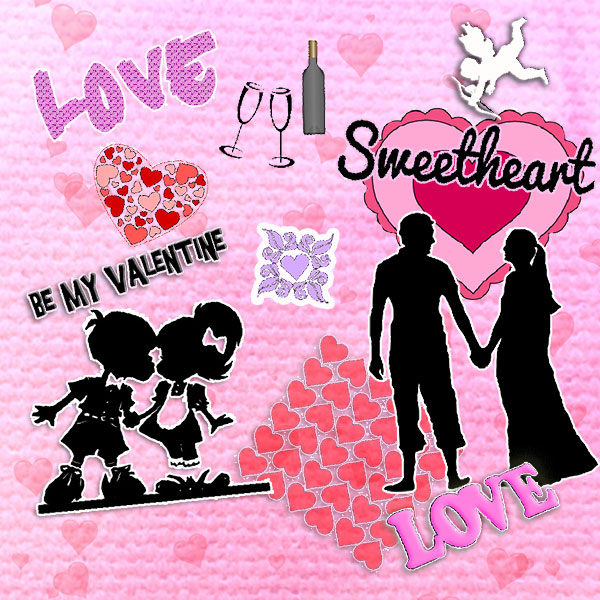 Brother Scan n Cut  Valentine's Day Bundle Pack – Free Download 12 Cutting Files