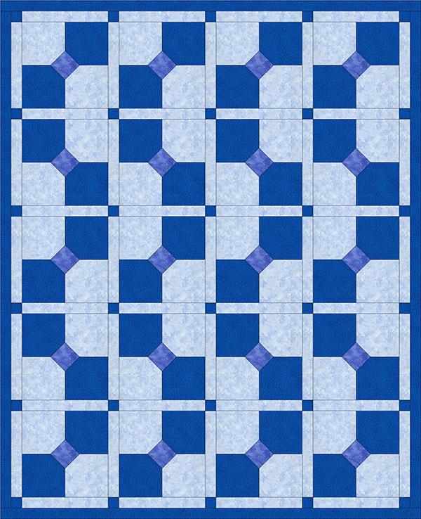 Quilt Block: 3D Bow Tie Quilt Block - Alanda Craft : bow tie quilt block - Adamdwight.com