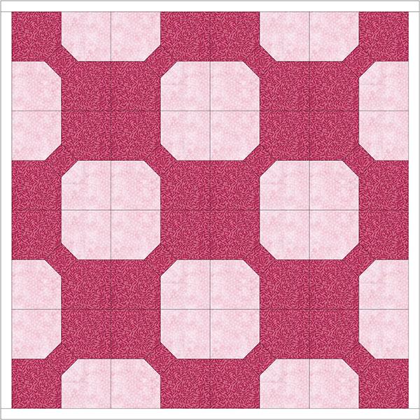 3D bow Tie Quilt Block