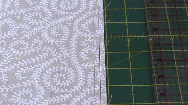 Charm Square Cushion Cover Tutorial
