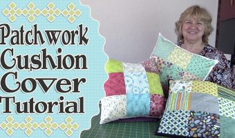Charm Square – Patchwork Cushion Cover Tutorial