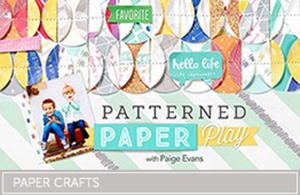 Patterned Paper Craftsy