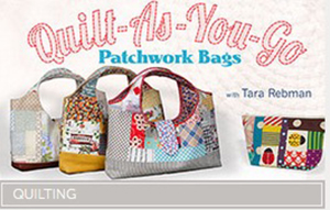Craftsy Quilt as You Go Bag