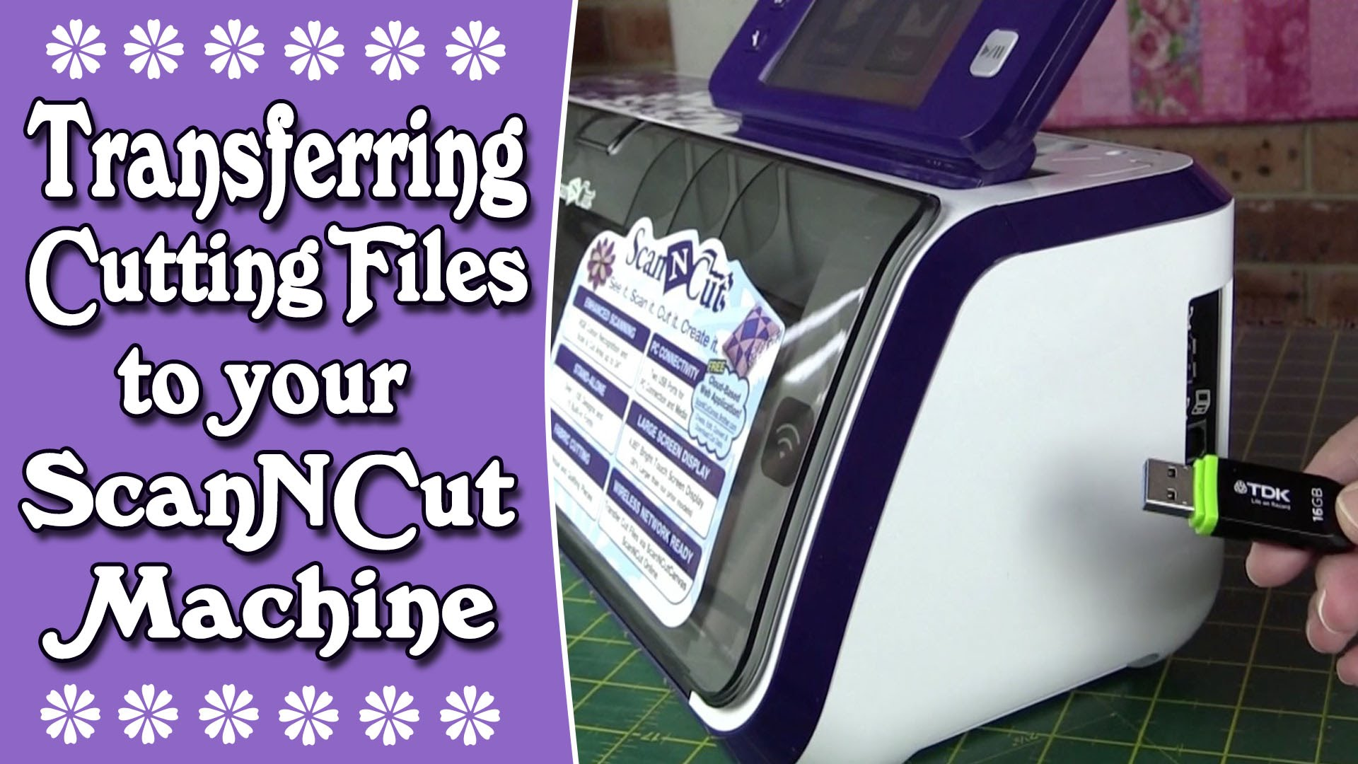 How to transfer cutting files on ScanNCut