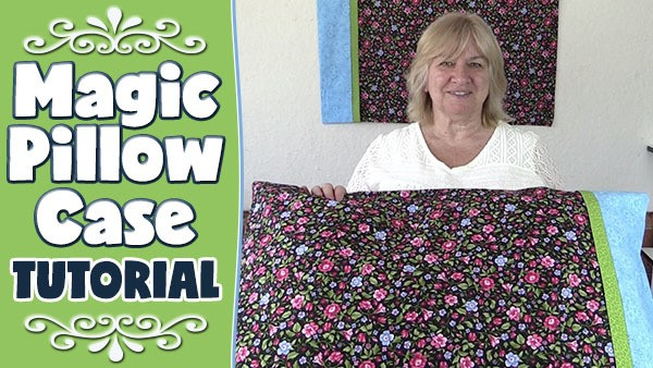 Magic Pillowcase Tutorial (AKA Burrito Pillow/ Roll-Up Pillow)