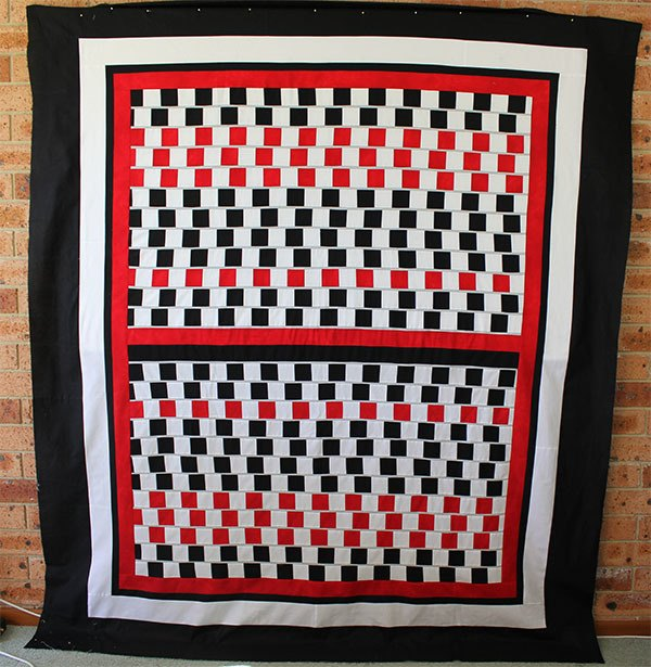 illusion-quilt,quilting, craft, sewing