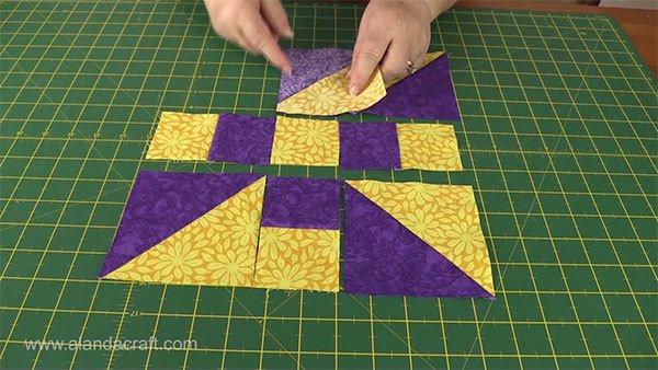 propeller-quilt-block, quilting, craft, sewing