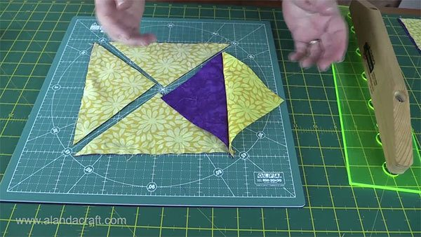 propeller-quilt-block, quilting, craft, sewing