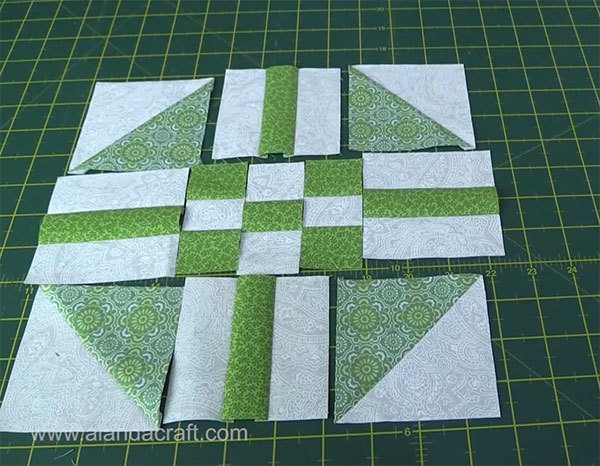 paths-n-stiles-quilt-block,quilt block, craft, sewing, quilting